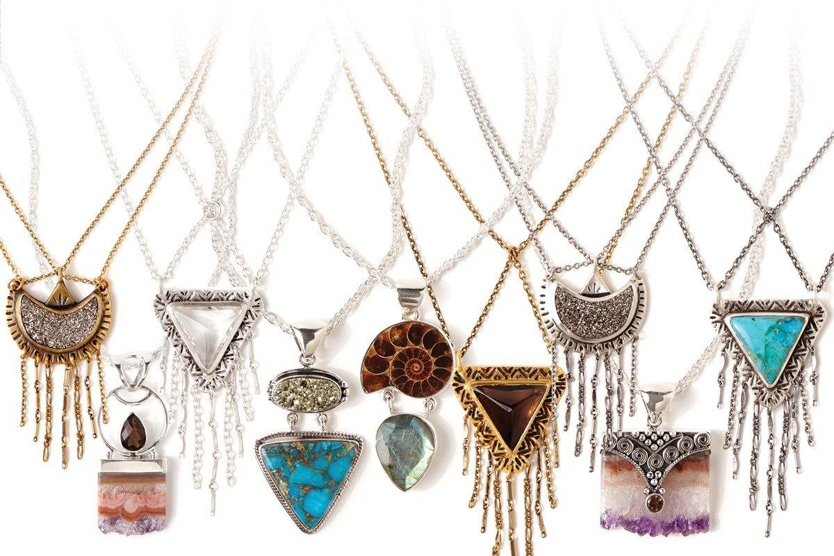 Jewelry accessories by designer sarah lewis sessions for Decor jewelry